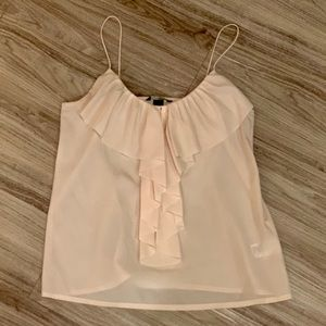 Cute H&M Light Pink Tank, size 8